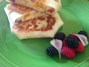 Veggie Scrunchwrap Breakfast Burrito & Recap of Recent Dumpster Dive