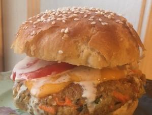Carrot Veggie Burgers (GF)