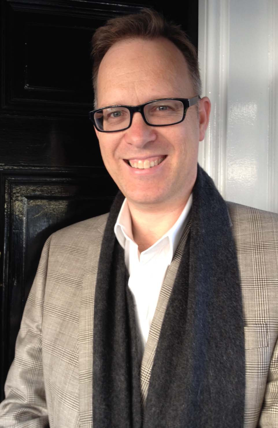 Garth Nix, image used with permission from Harper Collins