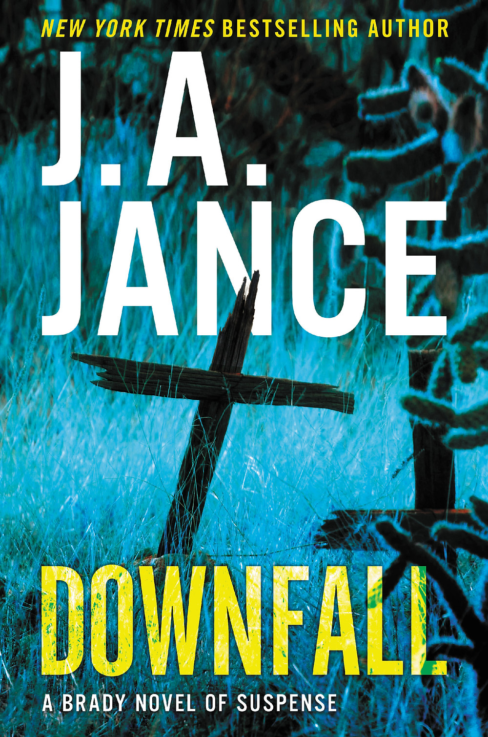 J.A. Jance's Downfall, image used with permission from HarperCollins