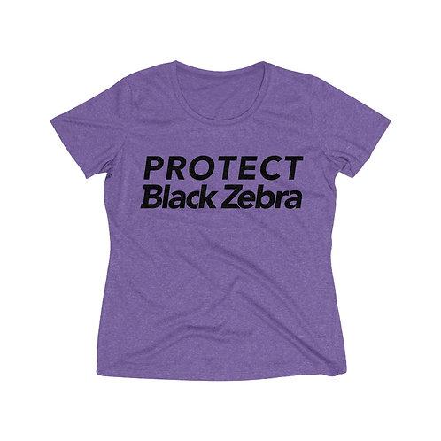 Heather Wicking Tee   Protect Black Zebra