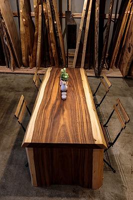SOZAI姫路店一枚板テーブル