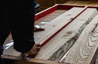 SOZAIZ姫路店 ウッドリバーテーブル製作①
