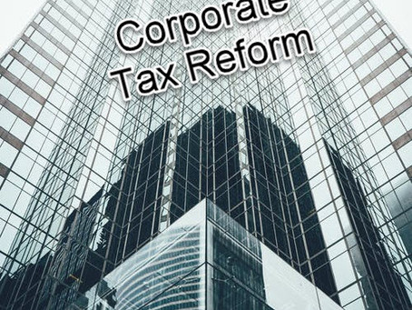 Corporate Tax Rate Reduction?