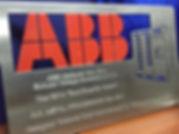 ABB Best Supplier Award