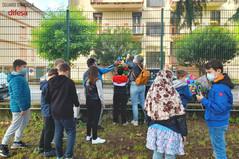 Le tavolette artistiche degli alunni dell'Arcella continuano a colorare il quartiere