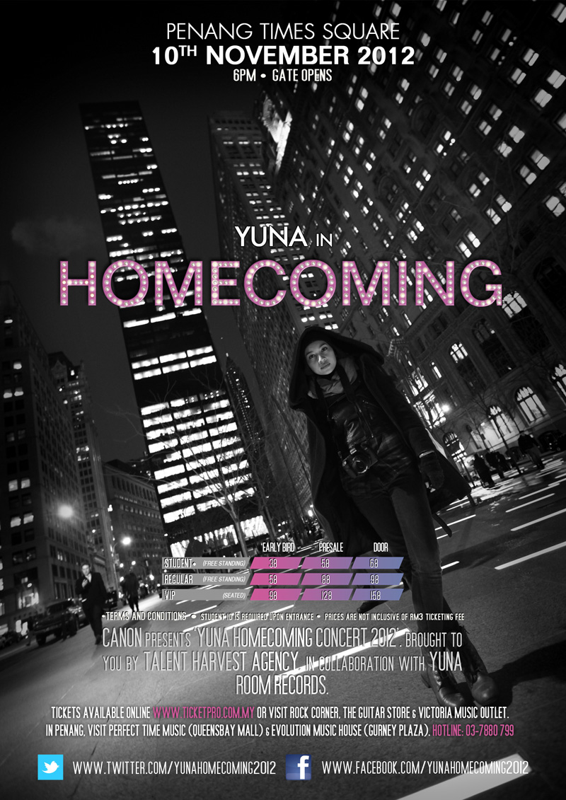 Yuna Homecoming Penang