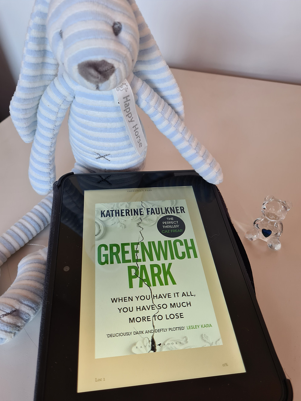 Ebook cover of Greenwich Park by Katherine Faulkner