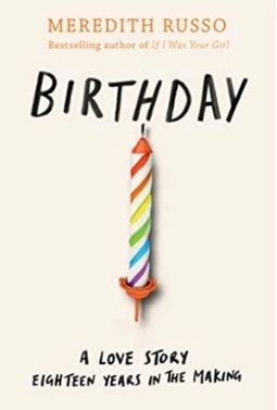 Birthday by Meredith Russo - book cover