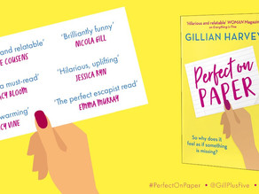 Perfect on Paper by Gillian Harvey [Book review]