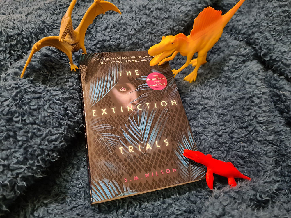 The Extinction trials by S.M. Wilson book cover