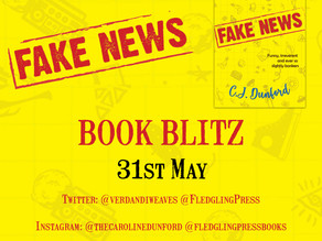 Publication day blitz for Fake News by C.J Dunford