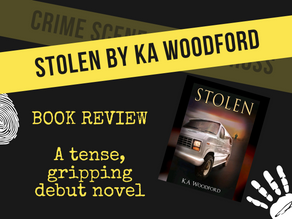 Stolen by KA Woodford [Book review]
