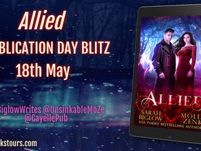 Allied by Sarah Biglow and Molly Zenk: Book Blitz