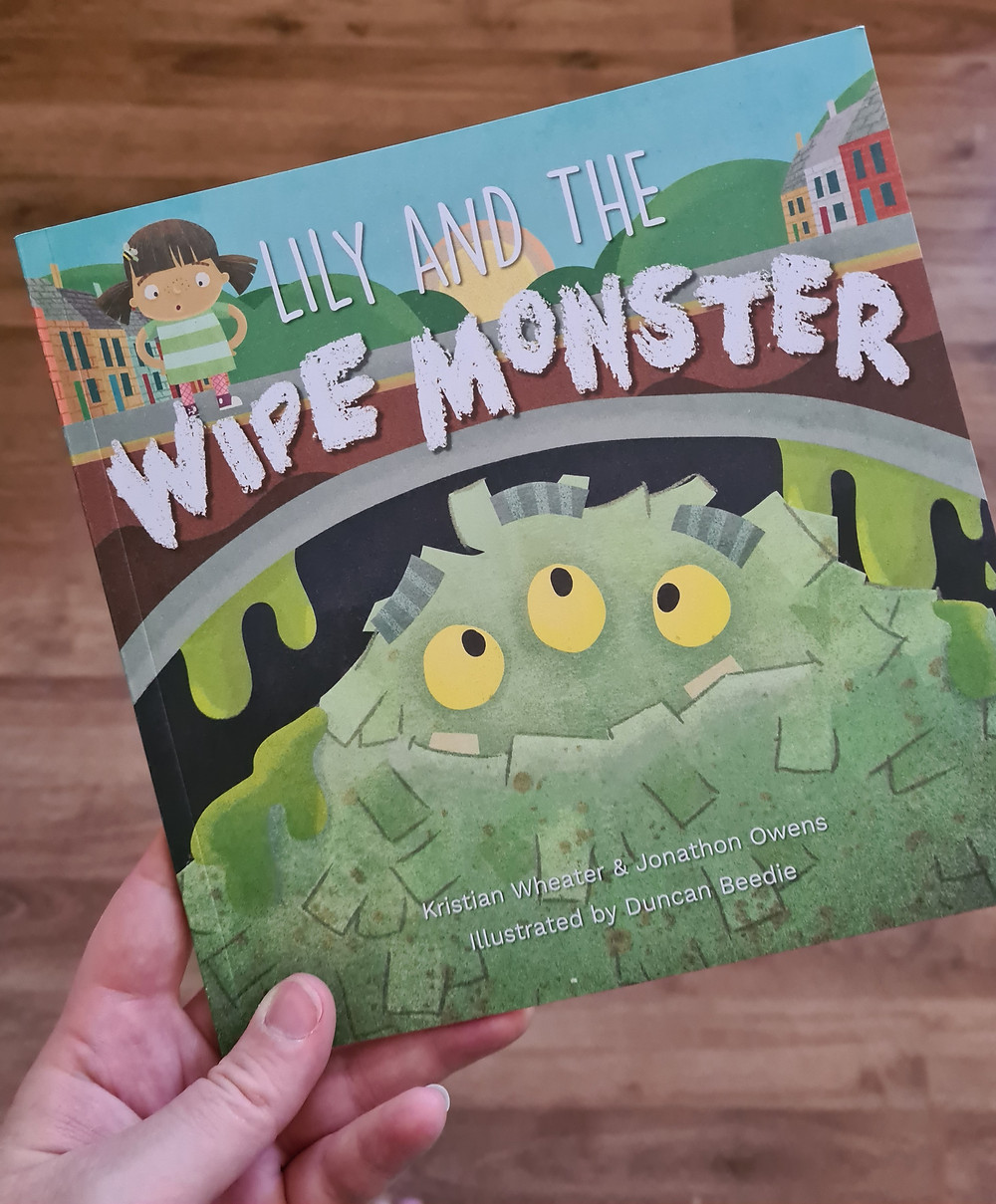 Cover of Lily and the wipe monster
