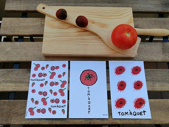 Serie: tomate - tomàquet