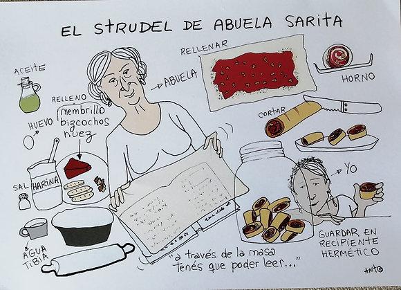 Pide tu receta de familia ilustrada.