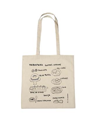 Tote bag diseño reposteria catalana