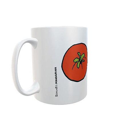 Taza diseño tomates