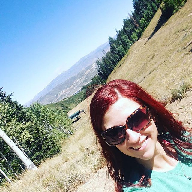Hiking Park City, Utah for a charity event