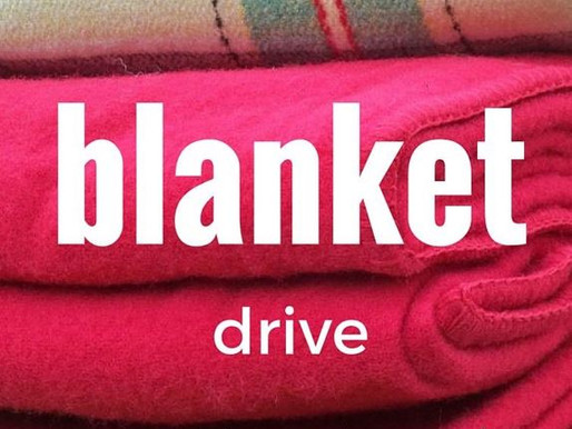 CAGE Cares Blanket Drive