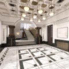 Vienna Court Hotel Lobby Rendering