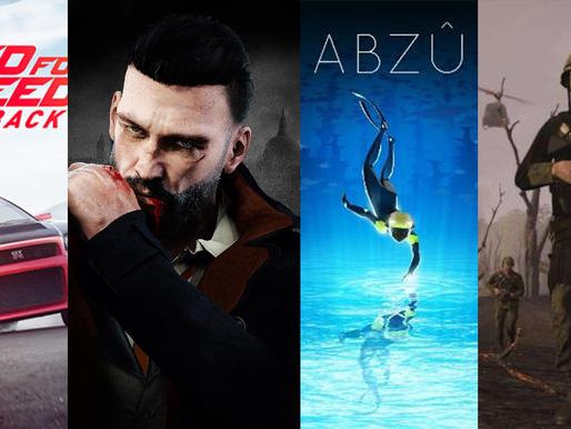 JOGOS GRÁTIS para PS4, Xbox One e PC