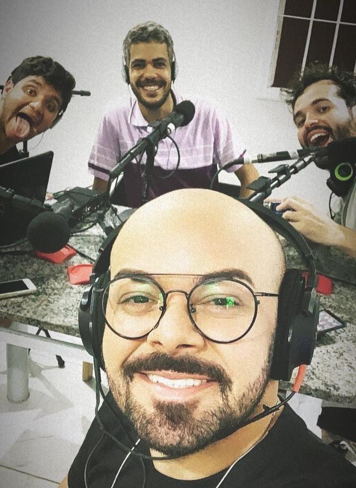 Making Of da gravação do episódio Vida Adulta com Viny Soares e Vagner Basílio
