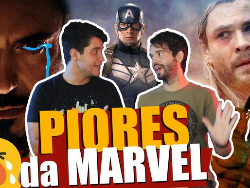 TOP 5 - Piores Filmes da MARVEL