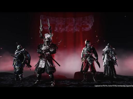 Ghost of Tsushima anuncia lançamento de multiplayer co-op