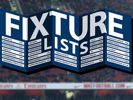 Mini Leagues - Sundays Fixtures