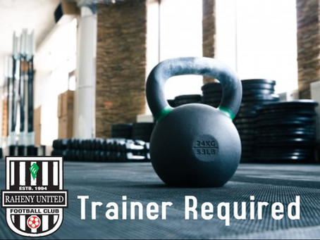 Strength and Conditioning Coach Required
