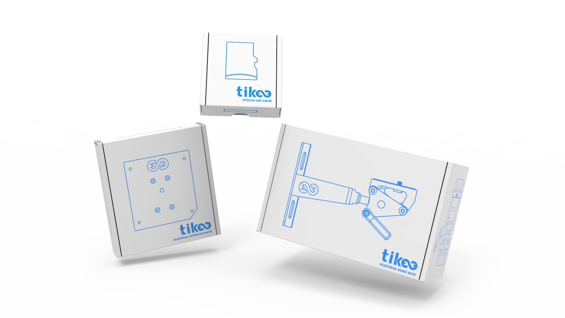 Tikee's accessories packaging