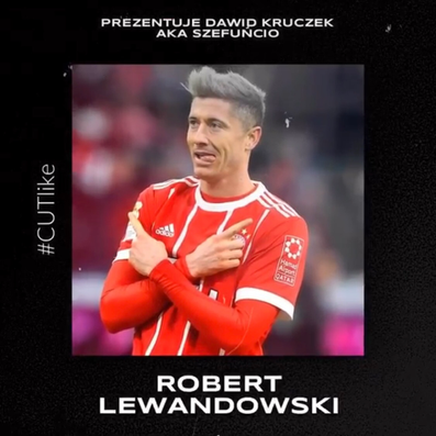 Fryzura Roberta Lewandowskiego