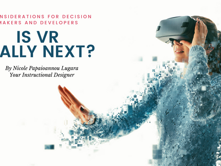 Is VR really next? 3 Considerations for Decision Makers and Developers