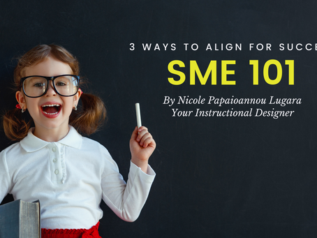 SME 101: 3 Ways to Align for Success
