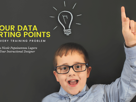 Four Data Starting Points for Every Training Problem