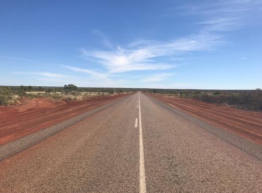Start Australien, Darwin bis Townsville, 2'600 km