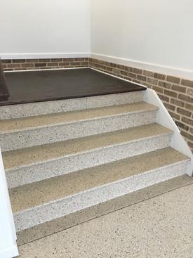 Residential Garage Steps