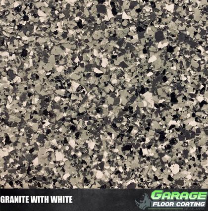 Granite with White