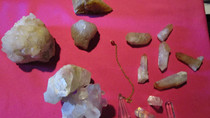 29 avril - Les quartz minéraux étranges