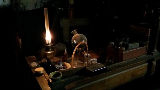 Nouvelle acquistion : lampe à huile