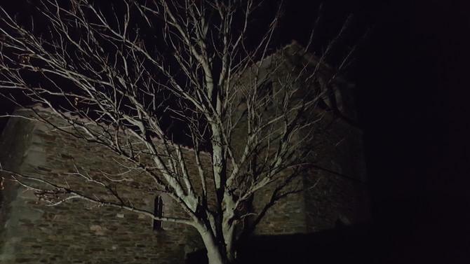 Super Lune à la Chapelle des Fous