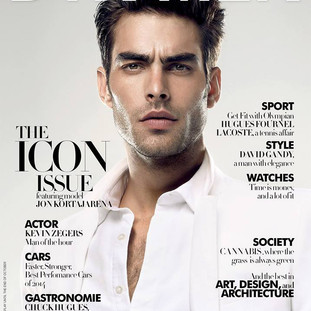 Cover magazine Jon Kortajarena- Key Groomer