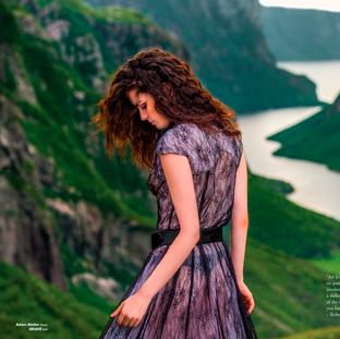 Editorial fashion- Key hair and make up