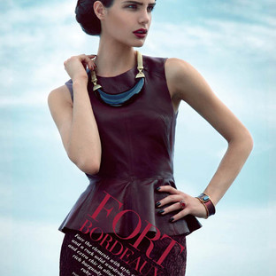 Editorial fashion- Key hair