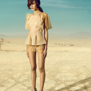Campaign- Lucian Matis- Key hair and make up