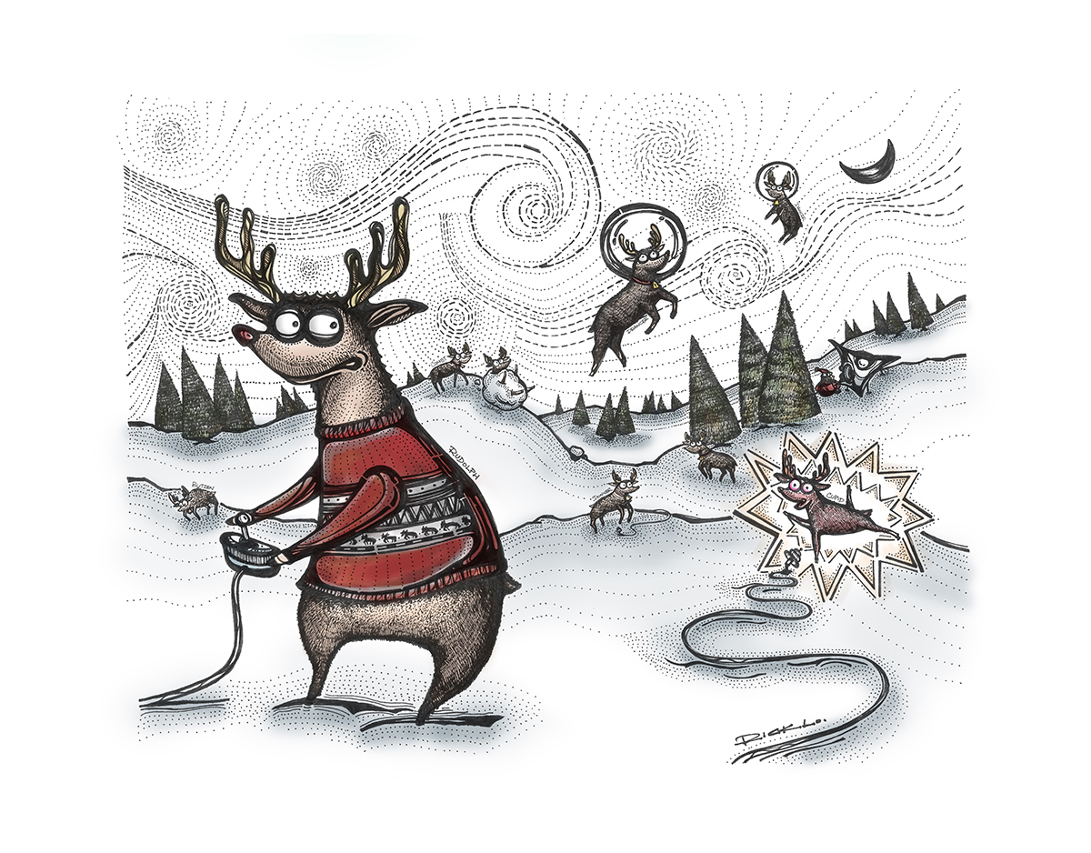 Christmas Trilogy: Rudolph, the Red-