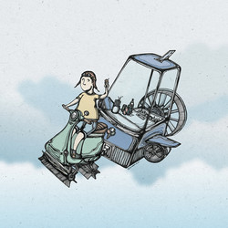 Fly Me with Ice-cream Motor