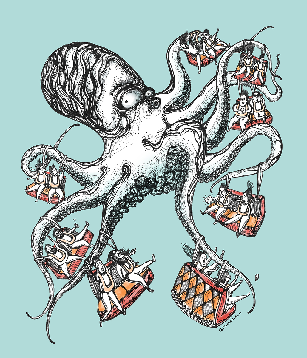 Crazy Octopus